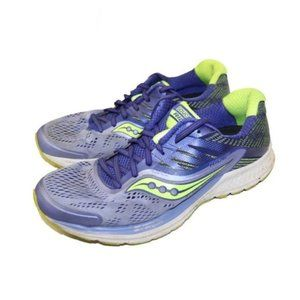 Saucony Ride 10 Purple Running Shoes Sneakers